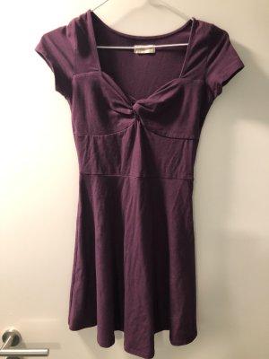 Dunkelrotes Kleid Hollister XS