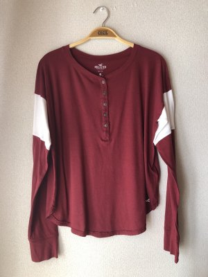 Hollister Boatneck Shirt multicolored