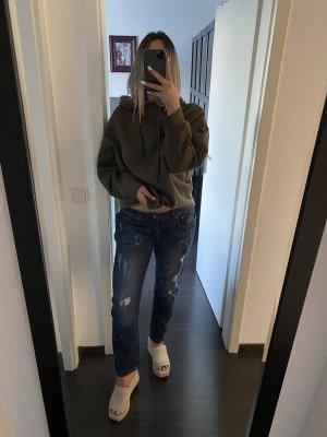Dunkle boyfriend Jeans
