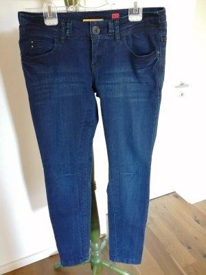 QS by s.Oliver Slim Jeans dark blue