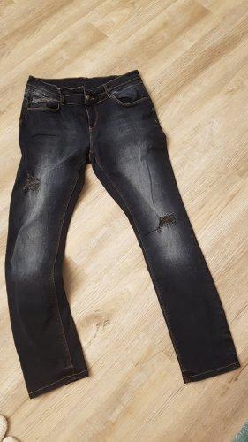 Street One Jeans boyfriend bleu foncé
