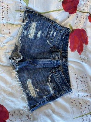 Abercrombie & Fitch Pantaloncino di jeans multicolore