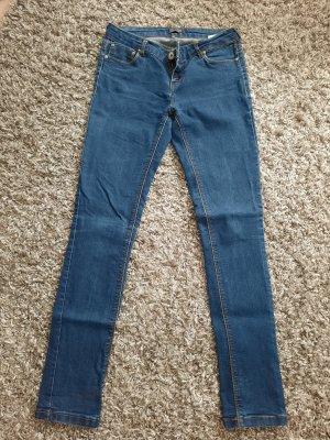Only Jeans vita bassa multicolore