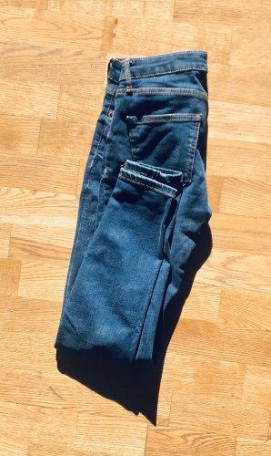 dunkleblau Zara skinny Jeans Gr S/28
