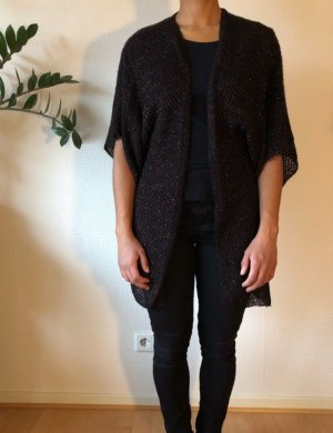 Topshop Knitted Cardigan black brown