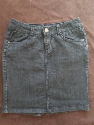 dunkler Jeans Rock