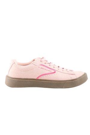 Dunlop Schnürsneaker pink Casual-Look