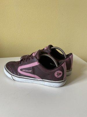 Dunlop Sneaker Gr 41 lila Leder