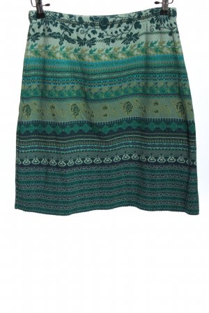 Dunque by Schweikardt Moden Jupe tricotée imprimé allover style décontracté