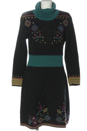 Dunque by Schweikardt Moden Robe pull imprimé allover style décontracté