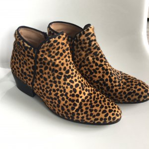 DUO Ankleboots, Boots, Booties, Stiefelette, Animal Print, Leo