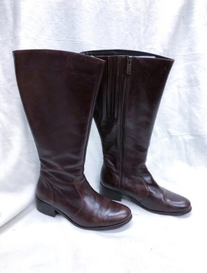 DUO Lederstiefel Beech Brown Leather Größe 39