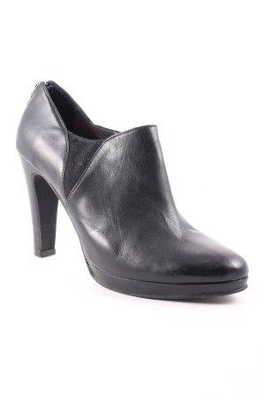 DUO Reißverschluss-Stiefeletten schwarz Casual-Look