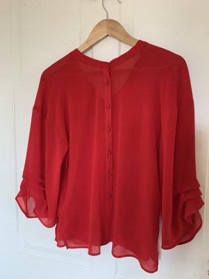 Durchsichtige Bluse von Zara