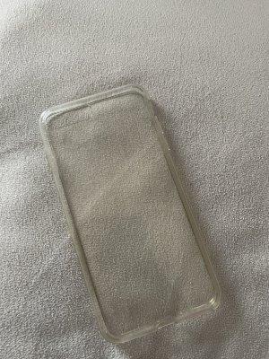 Pokrowiec na telefon komórkowy srebrny-kremowy