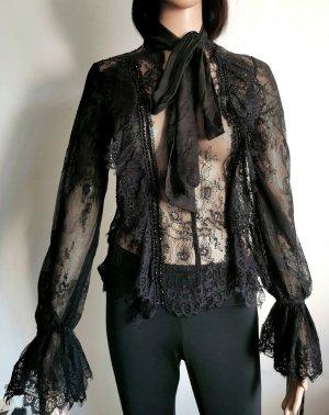 Lace Blouse black polyester