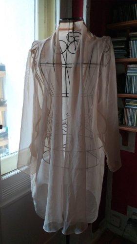 Ohne Kimono crema-nude tejido mezclado