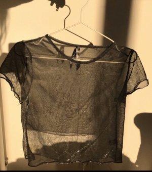 Durchsichtiges Glitzer Shirt