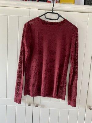 Durchsichtiges Longshirt