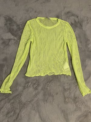 FB Sister Crochet Top neon yellow-meadow green