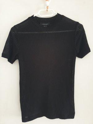 Durchsichtiges schwarzes T-shirt
