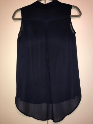 H&M Top Polo blu scuro
