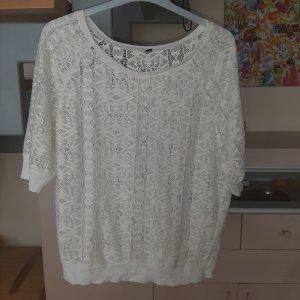 Pimkie Mesh Shirt white