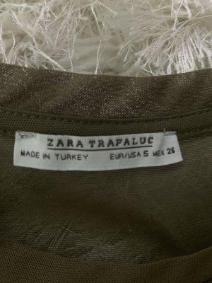 Durchsichtiges Zara Damenshirt (S)