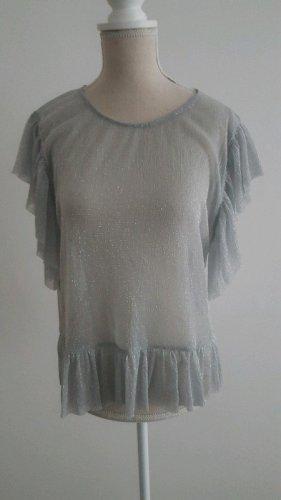Durchsichtliche Bluse von Zara Gr.S