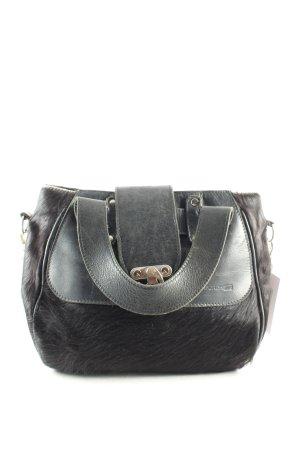 Durchzug Handtasche schwarz Street-Fashion-Look