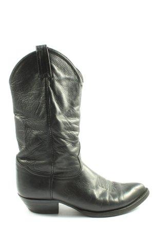 DUROTAC Boots western noir style décontracté