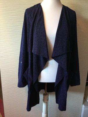 Duster-Jacke mit Wasserfallausschnitt
