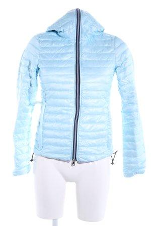 Duvetica Daunenjacke blau Steppmuster Casual-Look
