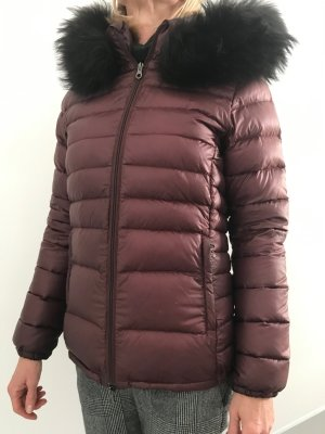 Duvetica Down Jacket bordeaux polyamide