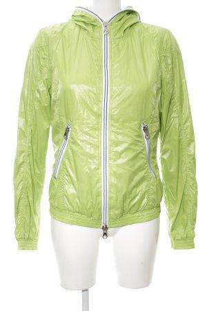 Duvetica Kapuzenjacke grün-weiß Street-Fashion-Look