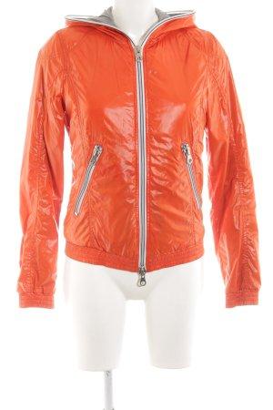 Duvetica Between-Seasons Jacket light orange casual look