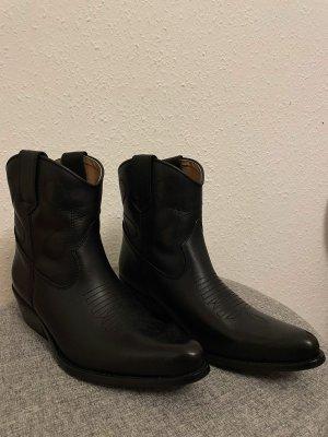 DWRS Buty w stylu western czarny