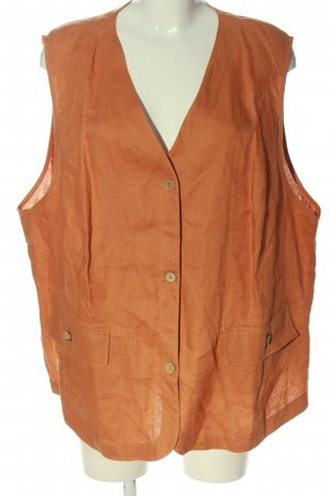 DW-Shop Waistcoat light orange casual look