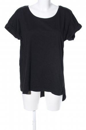T-Shirt schwarz Casual-Look