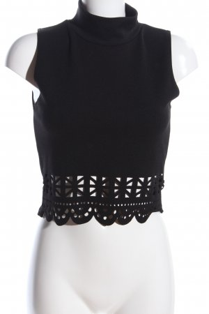 DX London Cropped Top schwarz Casual-Look
