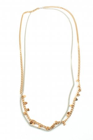 Dyberg Kern Collier Necklace gold-colored-silver-colored casual look
