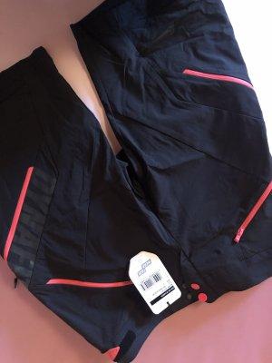 Dynafit Pantalón corto deportivo negro-rosa