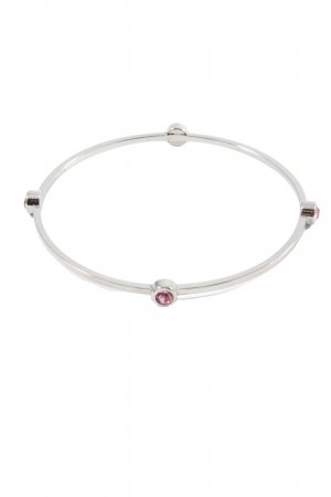 Dyrberg/Kern Armspange silberfarben-pink Casual-Look