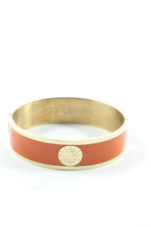 Dyrberg/Kern Bracelet de bras doré-orange clair style décontracté