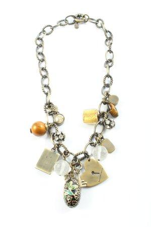 Dyrberg/Kern Collar estilo collier color plata look casual