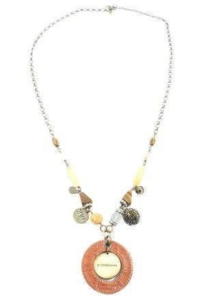 Dyrberg/Kern Collar estilo collier color oro-marrón elegante