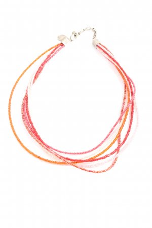 Dyrberg/Kern Collier Necklace red-light orange casual look