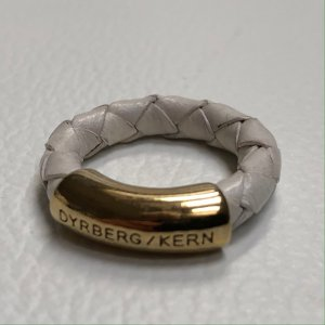 DYRBERG KERN Damen Ring Weiß Gold Gr. 54