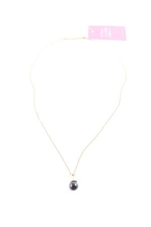 Dyrberg/Kern Halskette schwarz-goldfarben Casual-Look