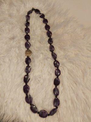 Dyrberg/Kern Collar con nombre violeta oscuro